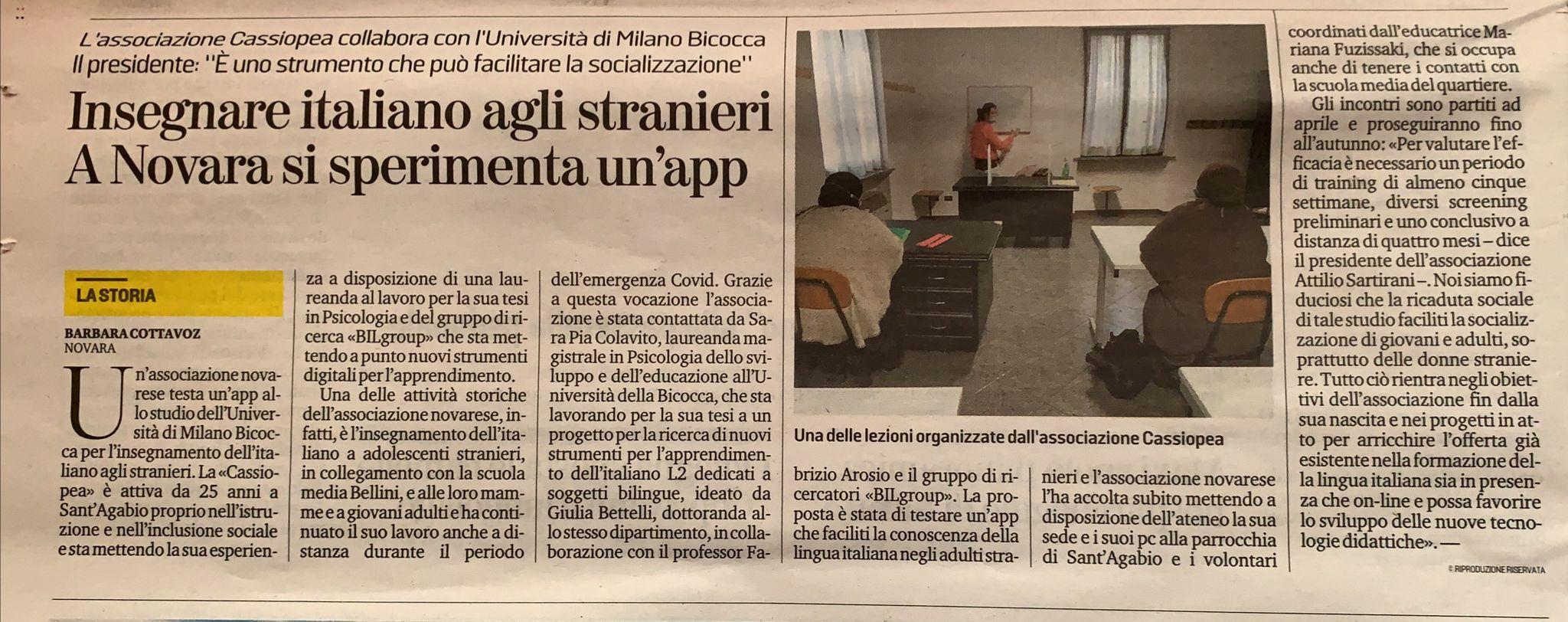 Foto articolo La Stampa
